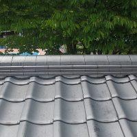 屋根瓦の調査